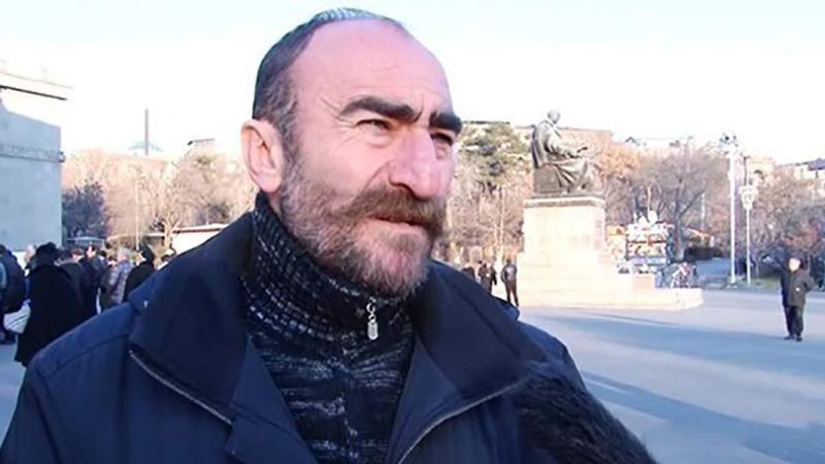 В Ереване арестовали лидера мятежников