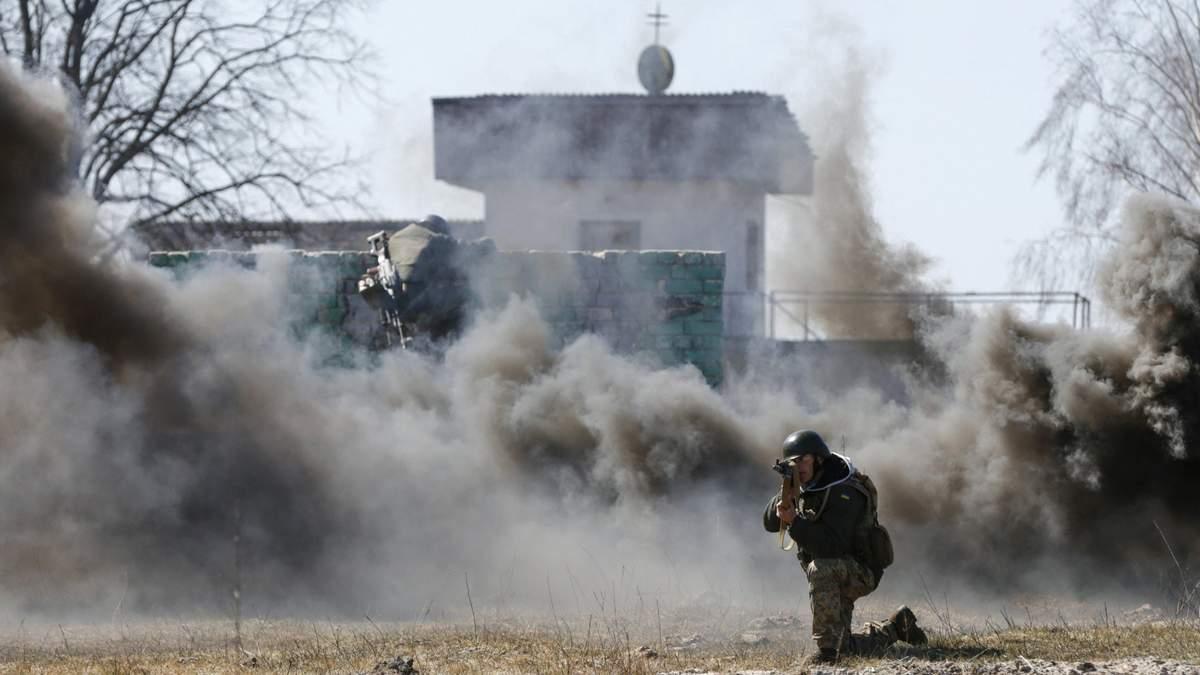 В сети появилось видео безумных боев под Марьинкой