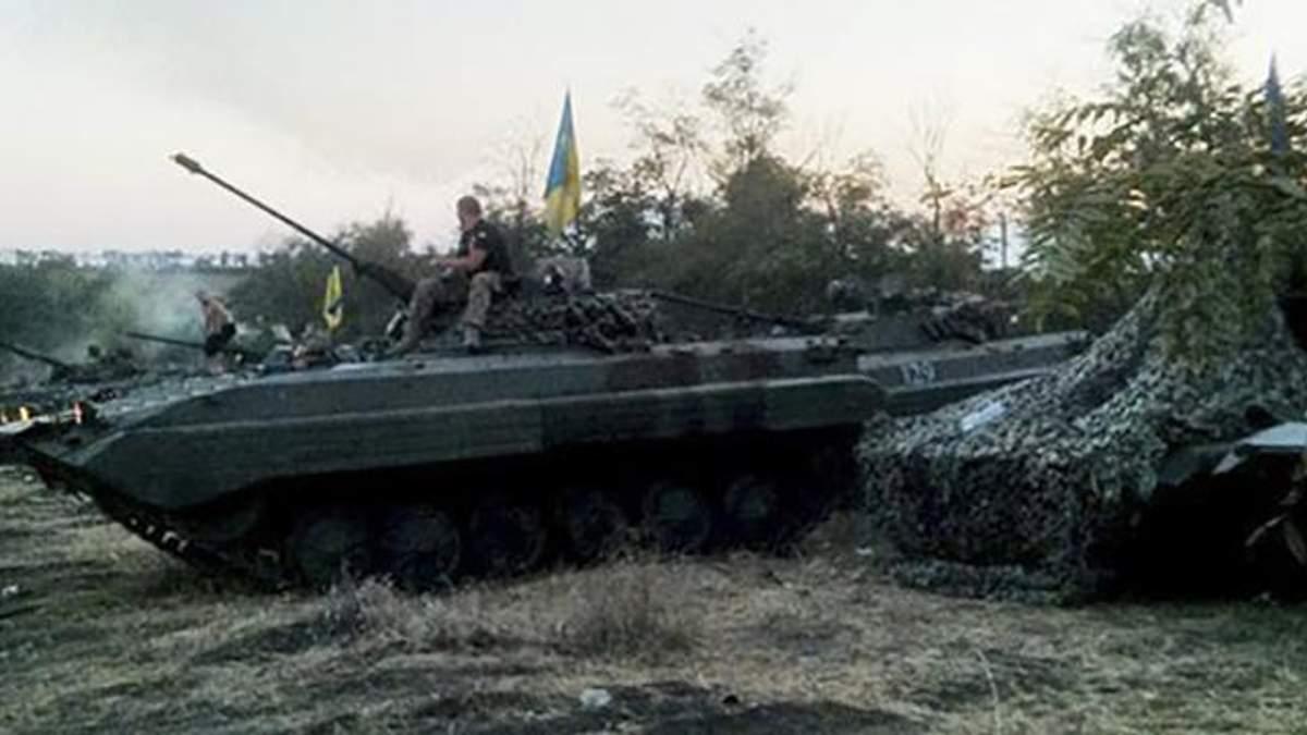 Українські танки в АТО