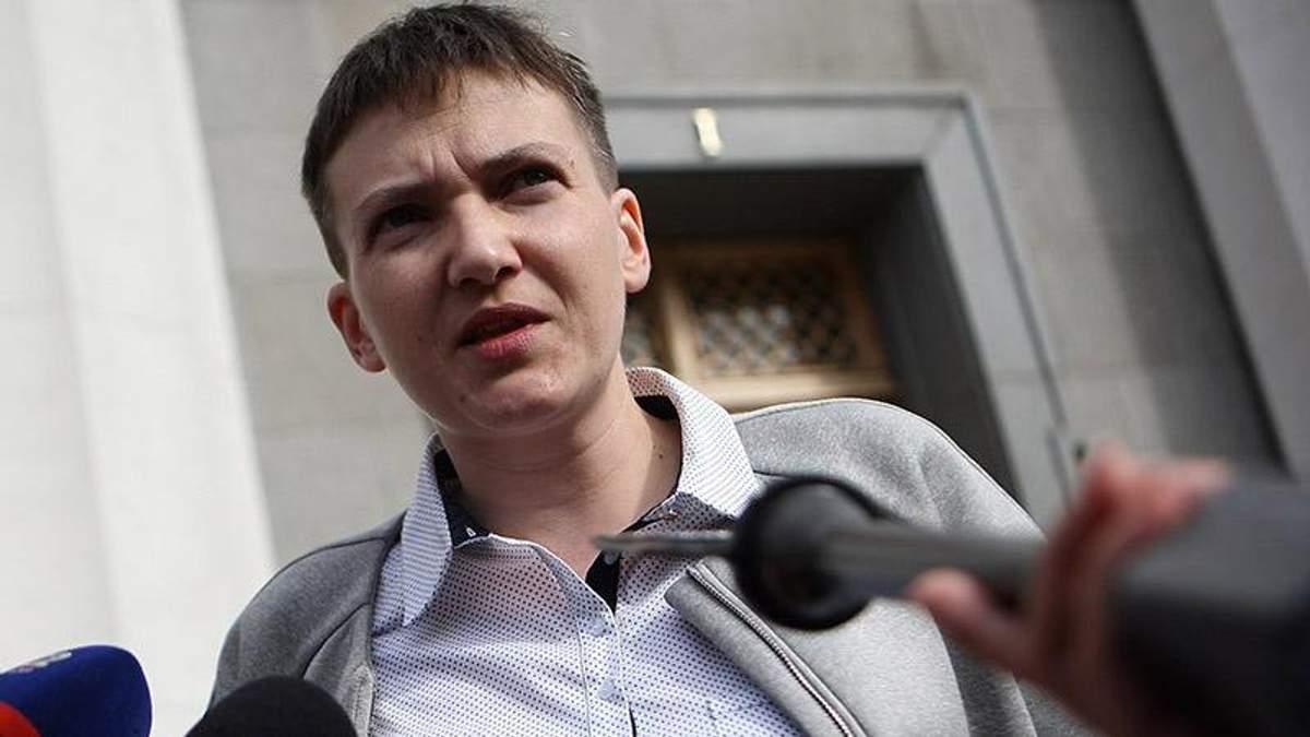 Савченко рассказала, что позволяет себе во время голодания
