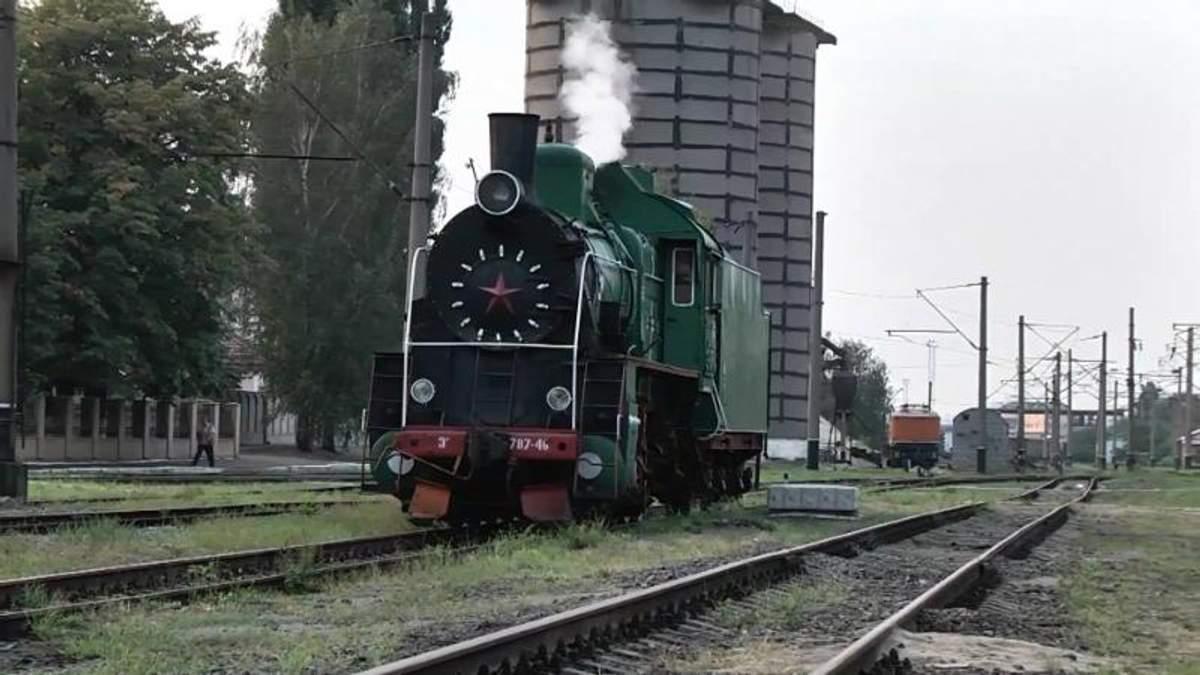"""Паровозы могут пополнить состав поездов """"Украинское железной дороги"""""""