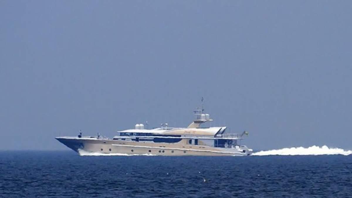 Роскошное судно врага Путина зашло в Одессу
