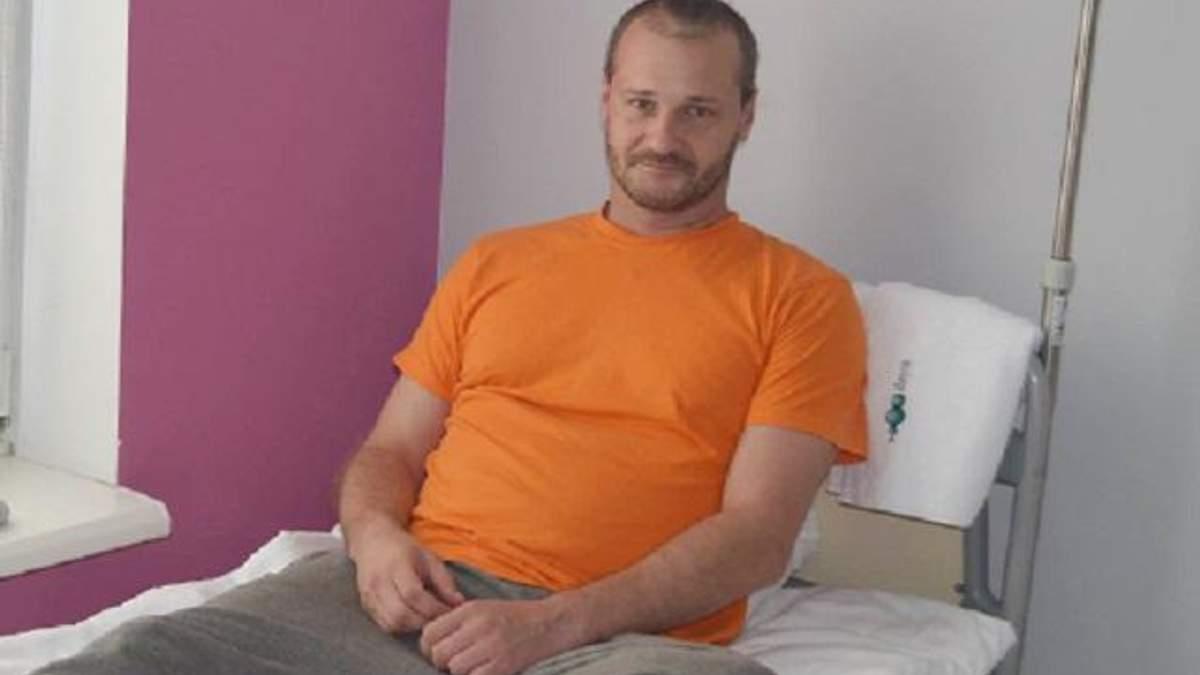 Олег, поранений у складі добровольчого батальйону ОУН