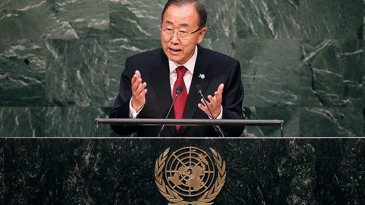 Украина не поддержит человека, который будет занимать такую же позицию, как и Пан Ги Мун