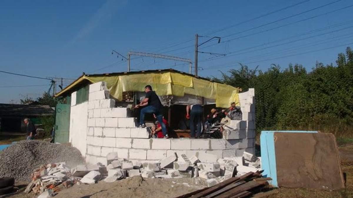 Храм московського патріархату зруйнували на Київщині