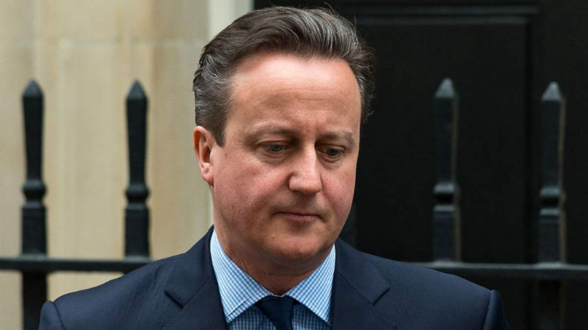 Колишній прем'єр-міністр Великобританії Девід Кемерон