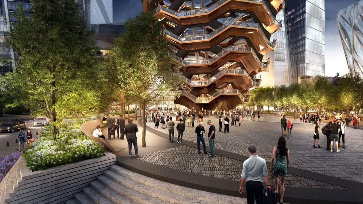 Появились фото грандиозной футуристической достопримечательности, которая украсит Нью-Йорк