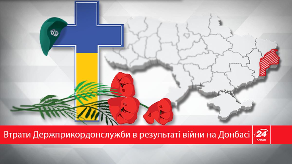 На Донбасі загинуло 65 співробітників Держприкордонслужби