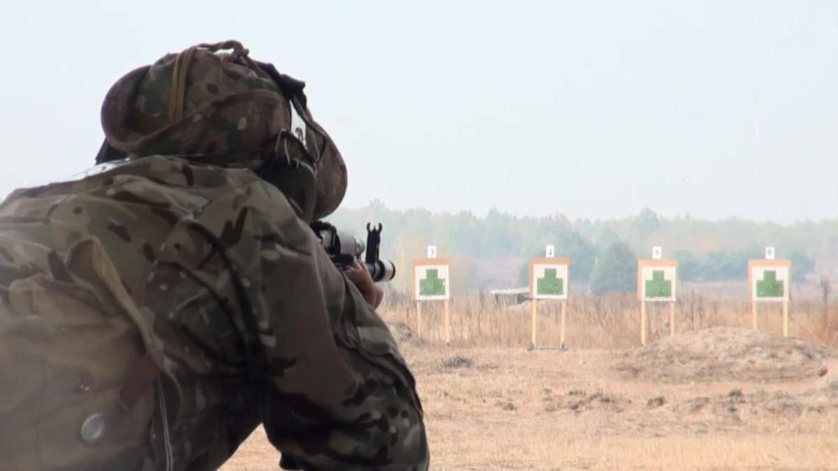 Змагання на влучність: як прикордонники визначають найвправнішого стрільця