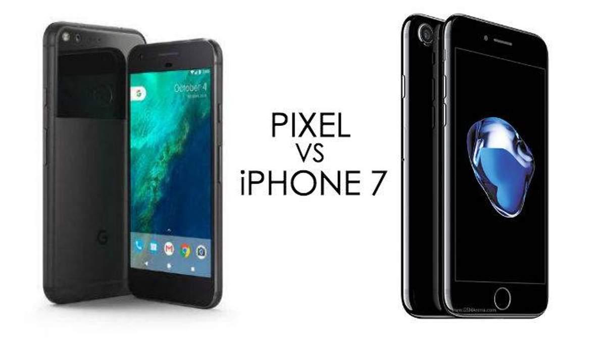 Google Pixel vs iPhone7: тест-драйв камер - 6 октября 2016 - Телеканал новин 24