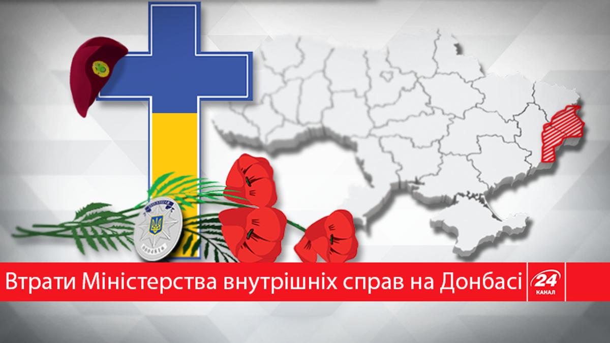 Сумна статистика: скільки співробітників МВС загинуло на сході України