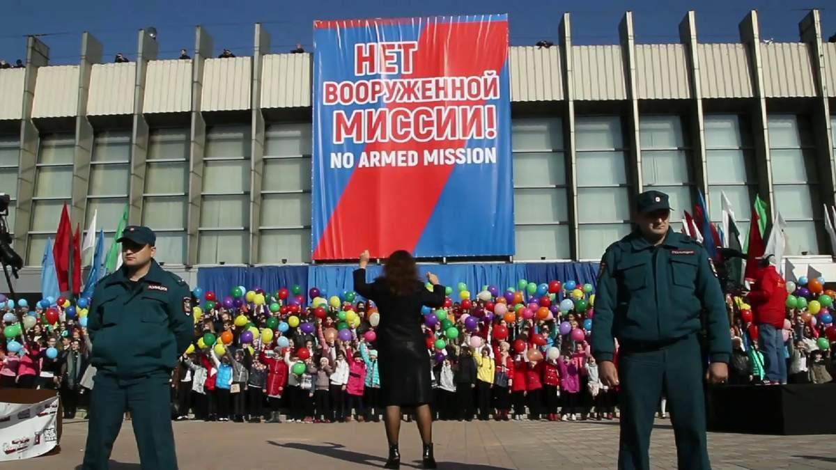 Как на оккупированных территориях воюют против несуществующей миссии ОБСЕ