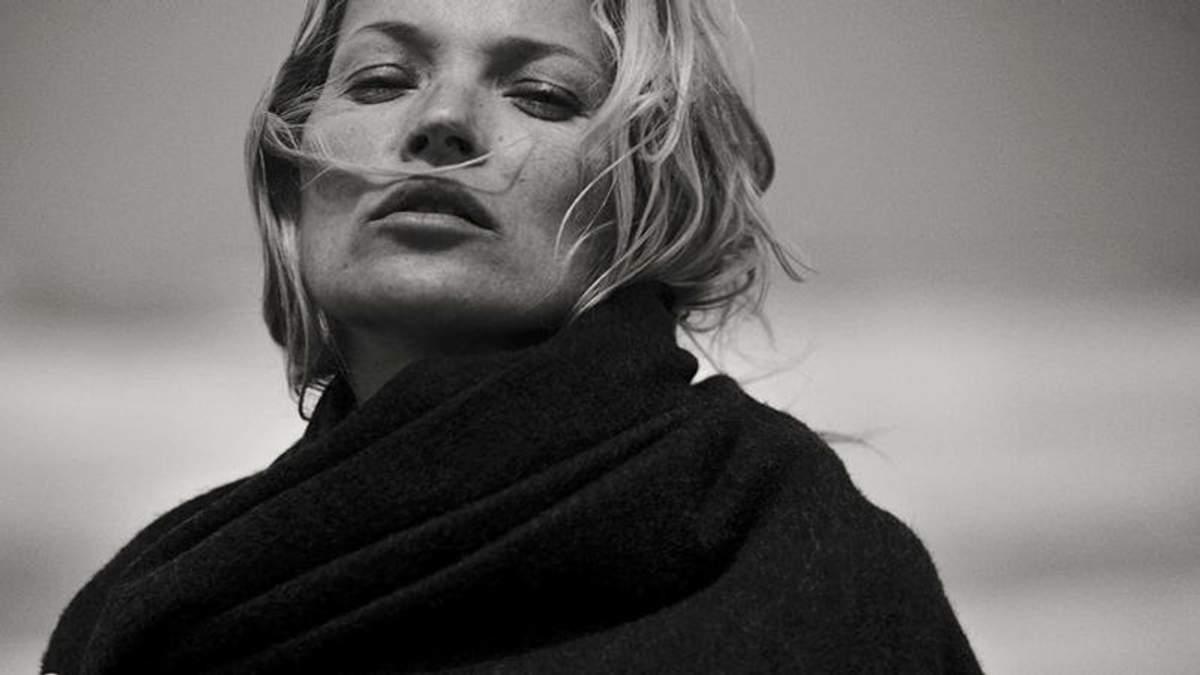 Кейт Мосс без макияжа снялась в чувственной фотосессии