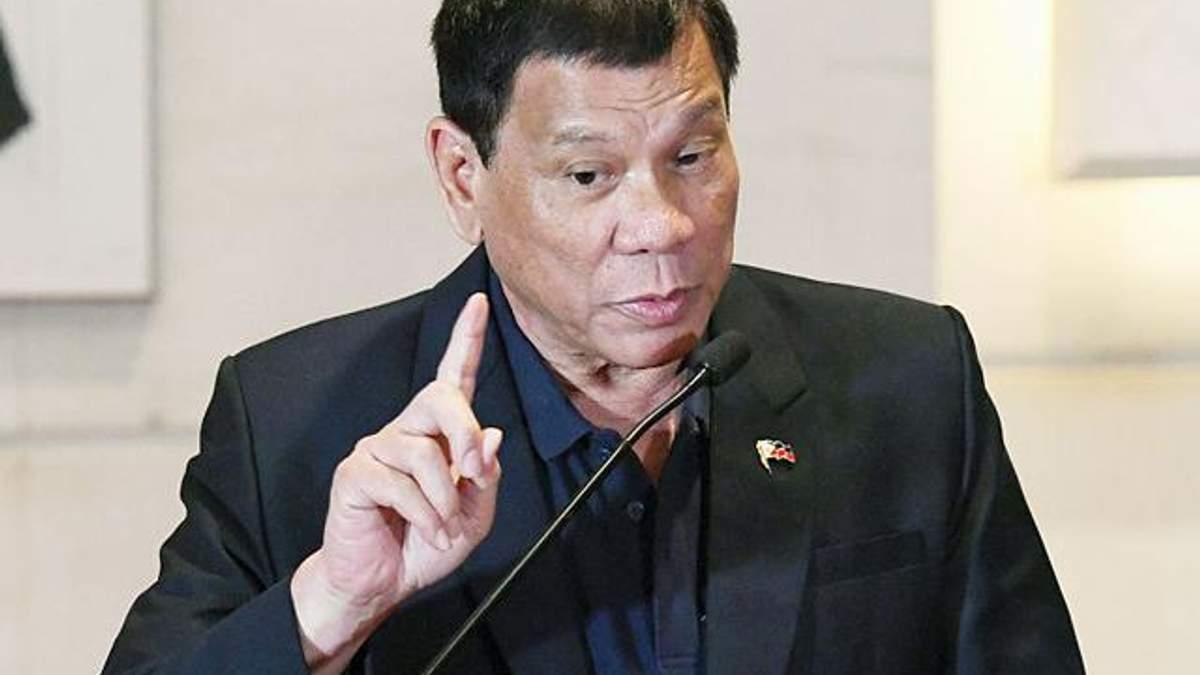 Президент Філіппін знову брудно вилаяв Обаму