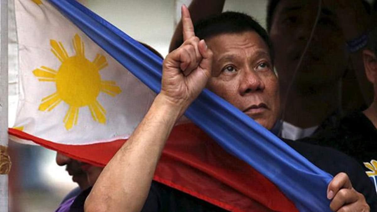 Президент Філіппін розповів про своє ставлення до Путіна