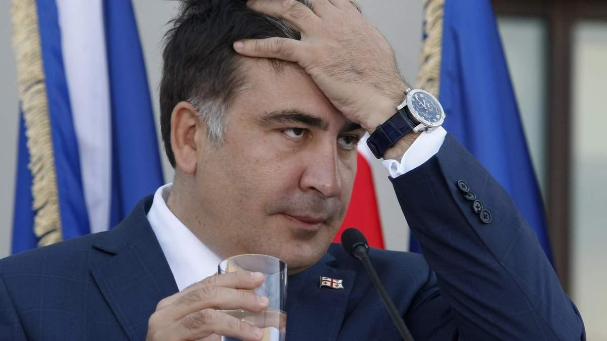 Эксперт рассказал, почему Саакашвили выбрал неудачное время для отставки