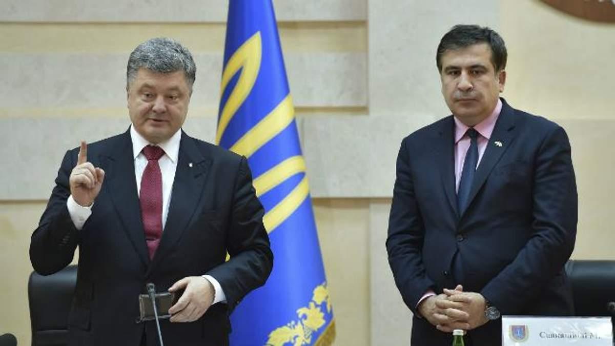 Саакашвілі відмовив Порошенку очолити БПП, – Лещенко