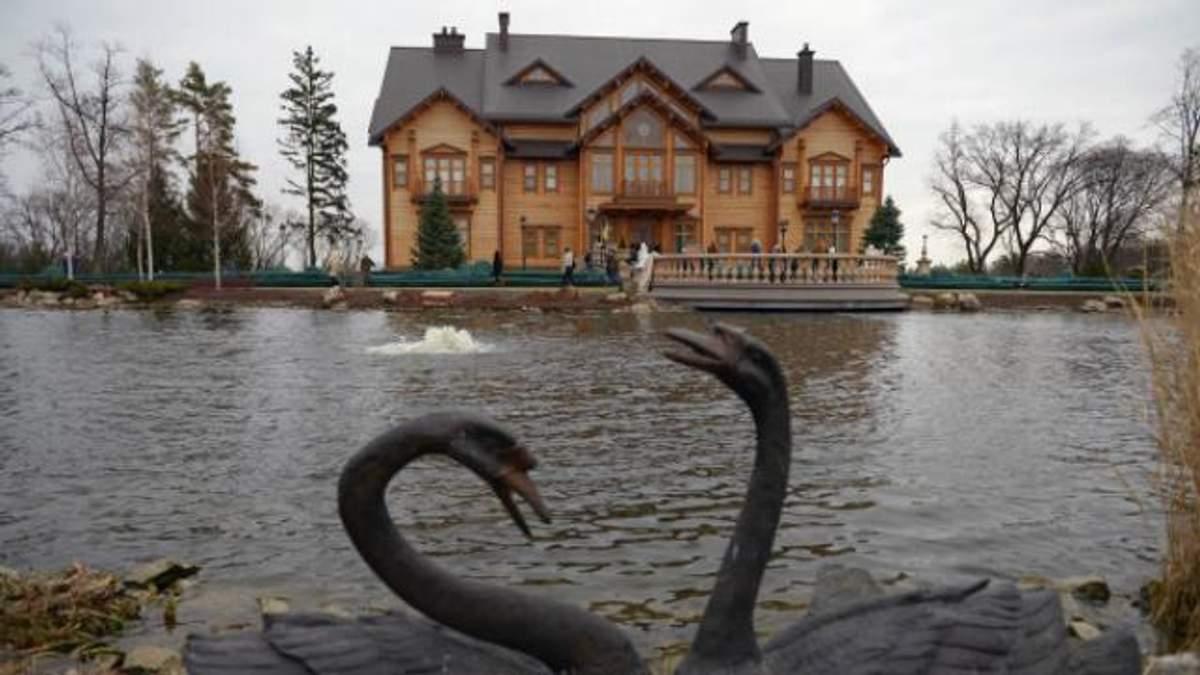 Вся нерухомість Януковича у Межигір'ї опинилась під арештом