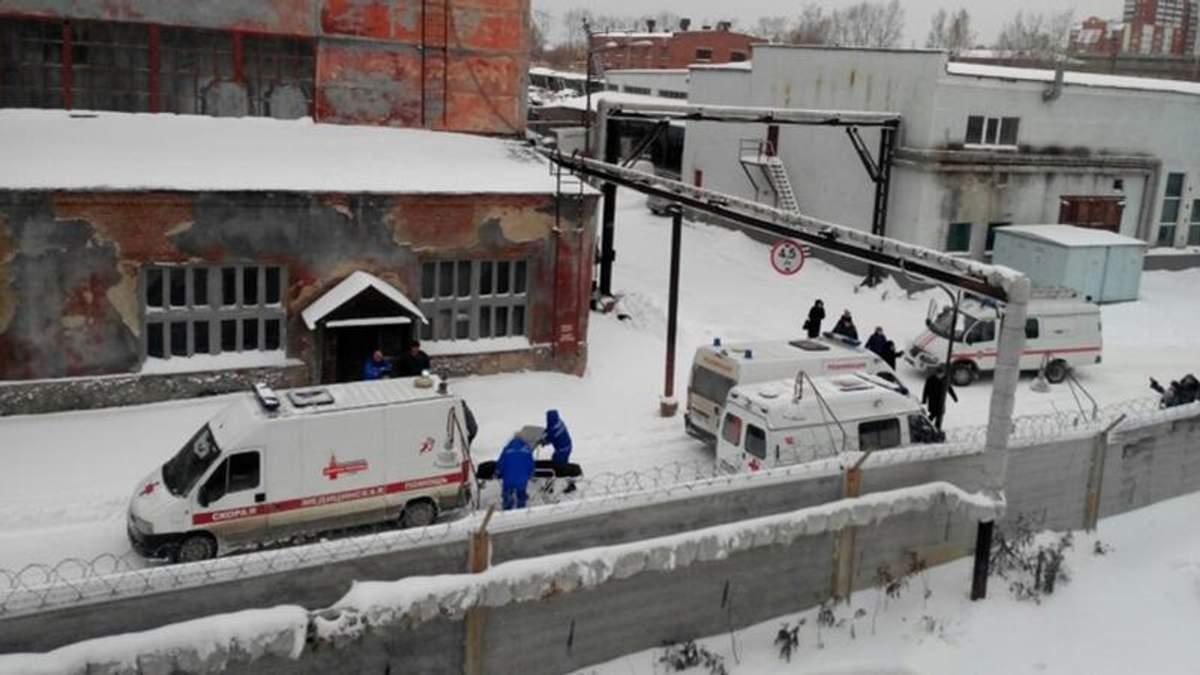 """У Росії обвалився завод, що виробляє """"Буки"""": є загиблі"""