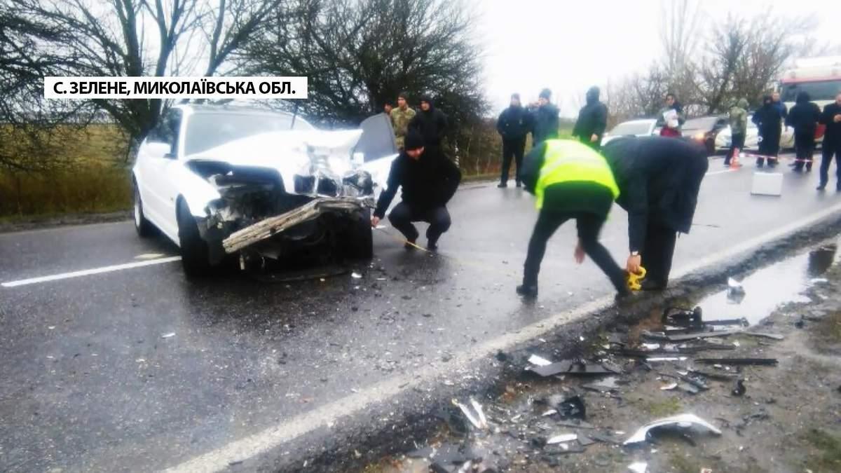 Аварія на Миколаївщині