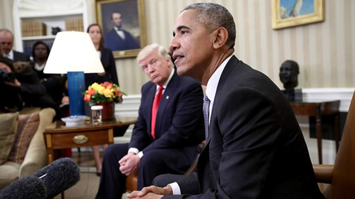 Барак Обама зустрівся з Дональдом Трампом