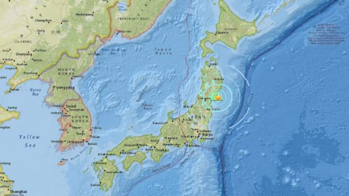 Новий землетрус сколихнув Японію та Італію