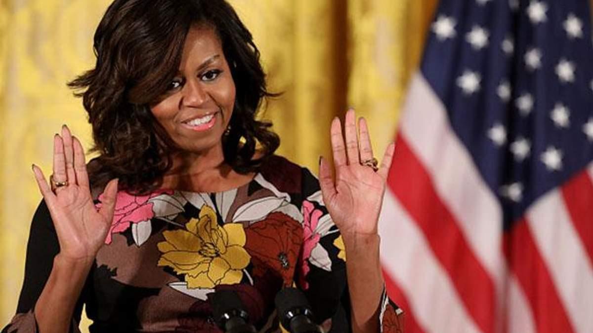 Мишель Обаму атаковали расистскими оскорблениями