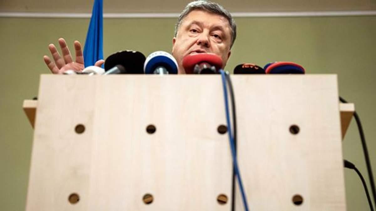 Стали известны детали допроса Порошенко