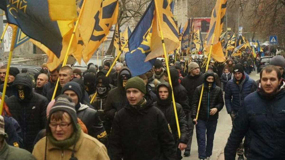 """""""Азов"""" маршем пришел к Порошенко, имеют к нему несколько вопросов"""