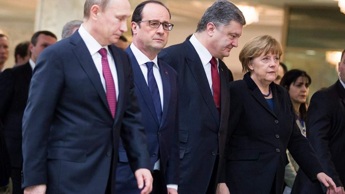 """Нормандський  формат на бездоріжжі: зрозуміло про плани країн  """"четвірки"""""""