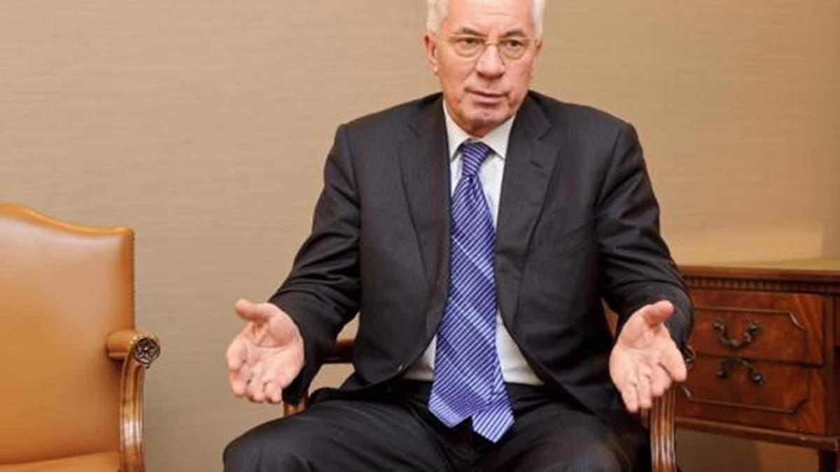Азаров пообіцяв повернутися в Україну