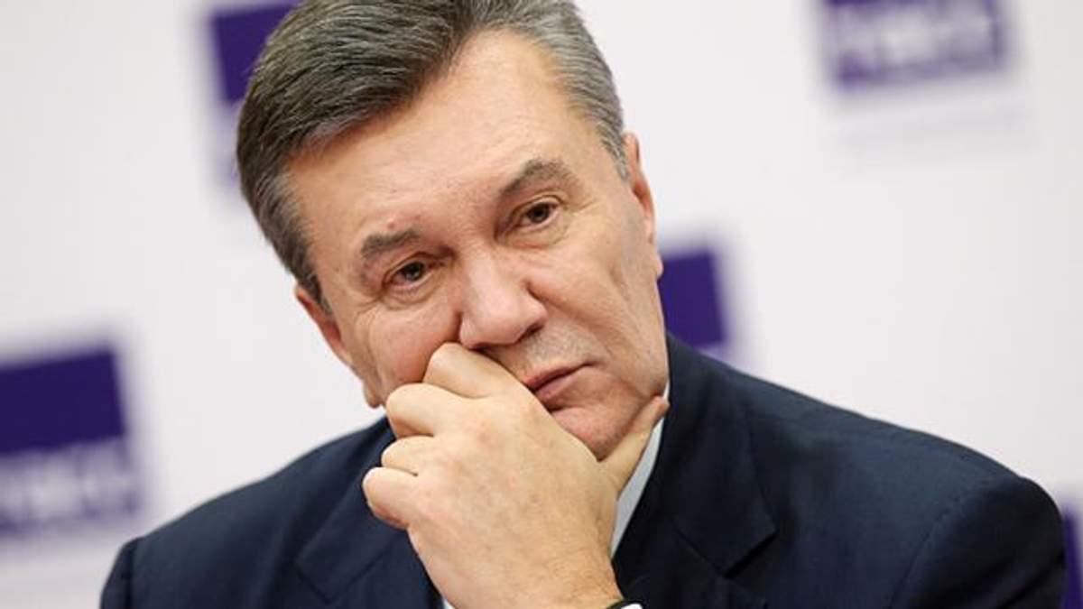 Допит Віктора Януковича: пряма трансляція