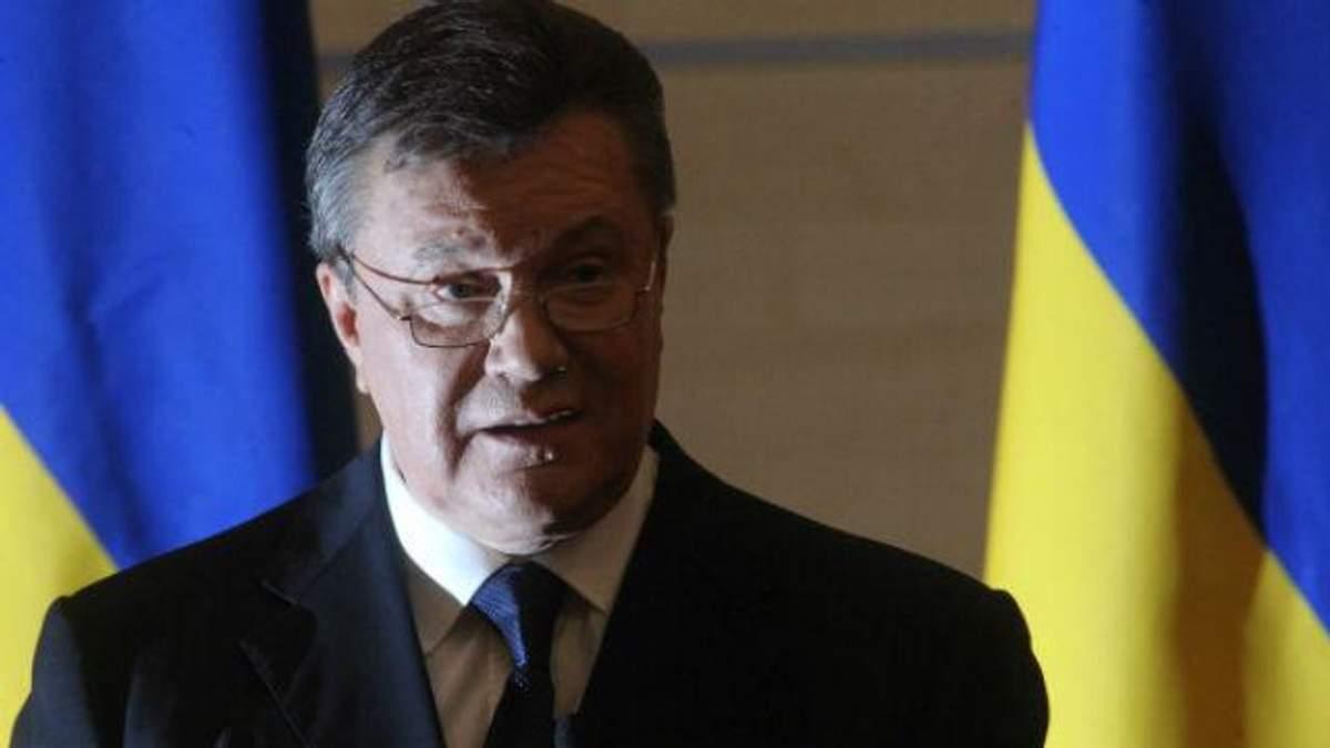 Янукович сказал, кто же начал войну на Донбассе