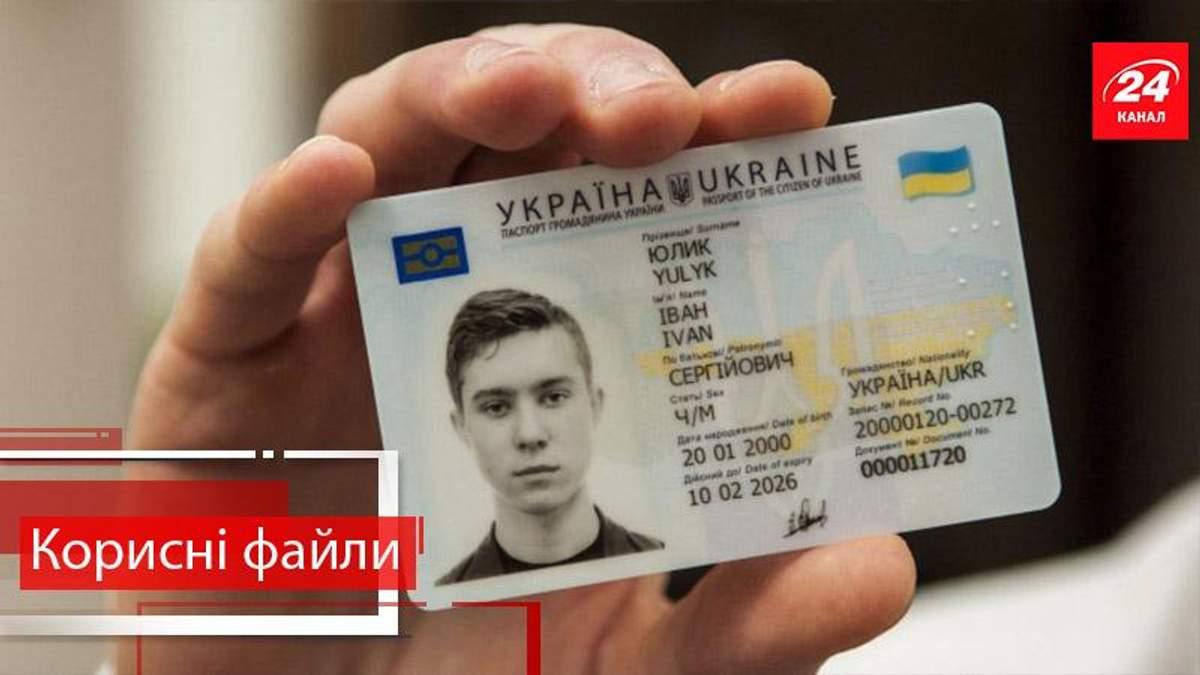 Полезные файлы. Как получить внутренний ID-паспорт