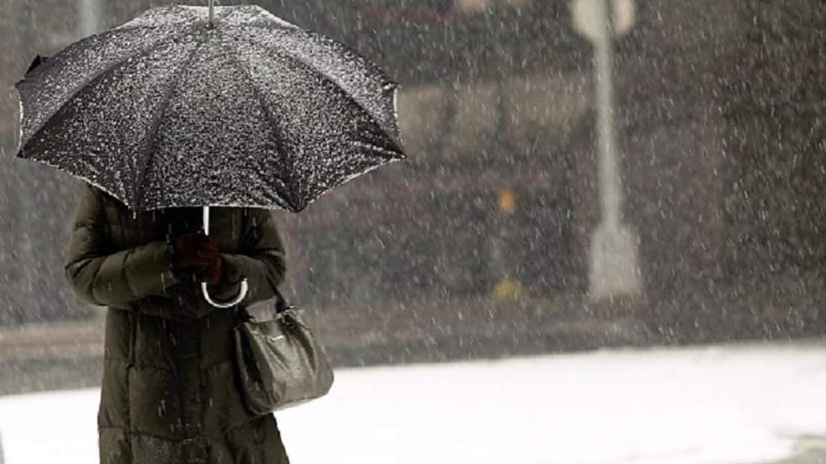 В Україні сніжитиме