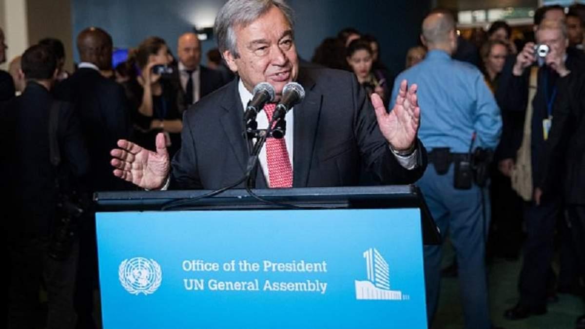 Новый генсек ООН Антониу Гутерриш: Наш серьезный недостаток – неспособность предотвратить кризисы
