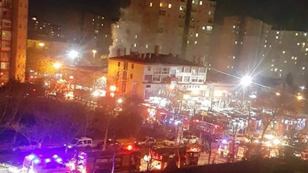 Вибух пролунав у центрі Стамбула