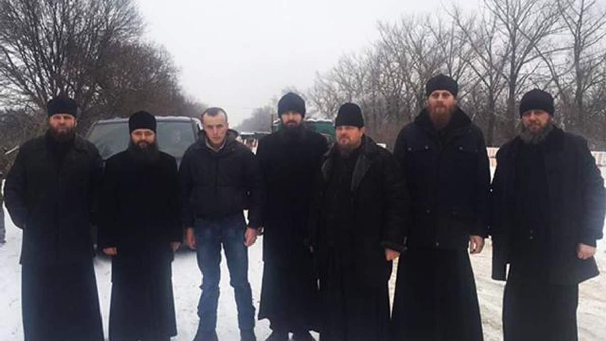 Священнослужителі з Тарасом Колодієм