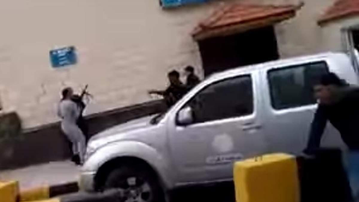 В сети появилось видео с теракта в Иордании