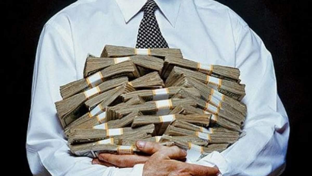 Загальна сума хабарів  на політичну корупцію склала 2 млрд доларів
