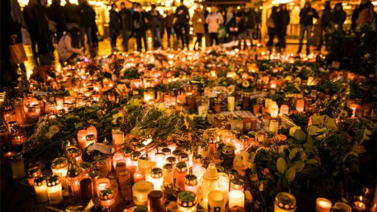 Памяти жертв трагедии в Берлине