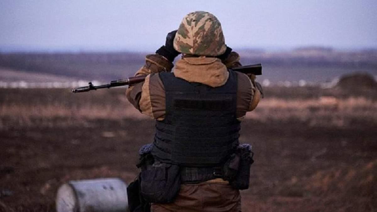 Українські військові відбили три атаки бойовиків на Світлодарській дузі