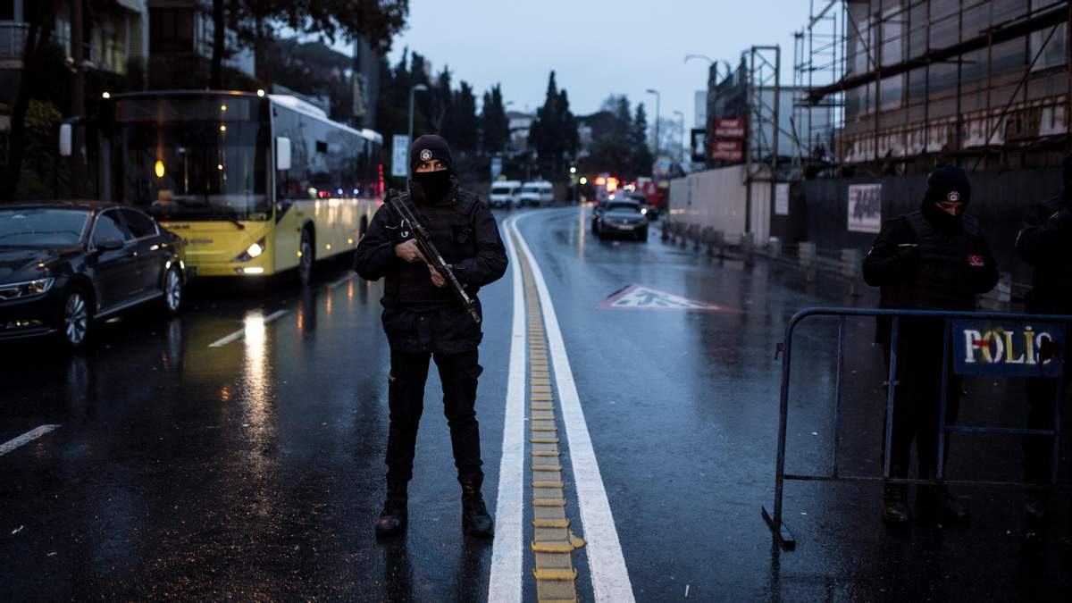 У розстрілі нічного клубу в Стамбулі підозрюють громадянина країни СНД