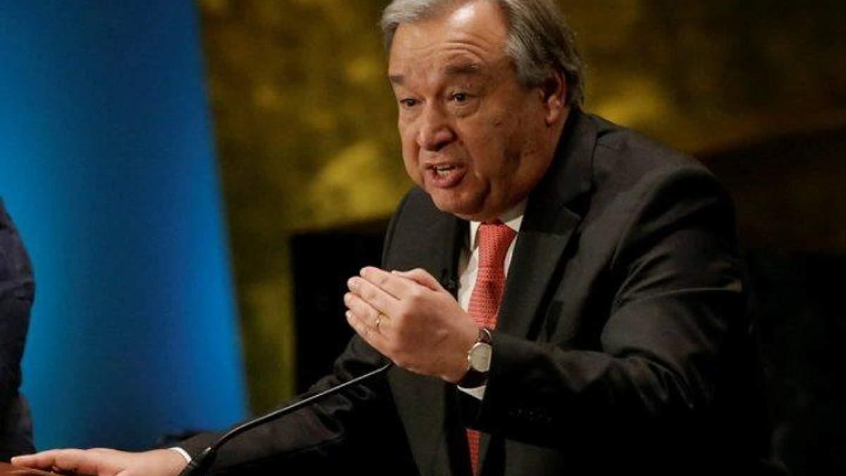 Мировому порядку грозит серьезная опасность, – генсек ООН