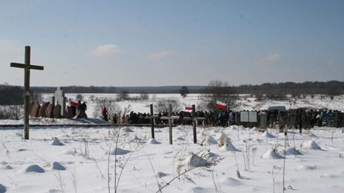 Спілка поляків України назвала винних у знищенні пам'ятника на Львівщині