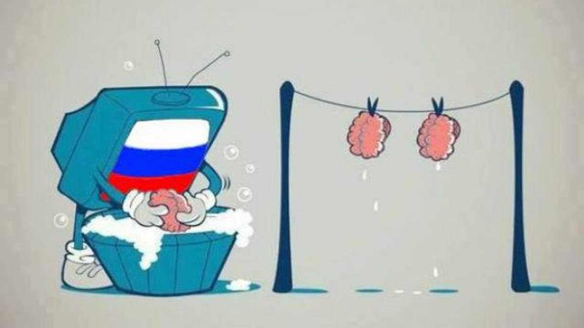 """Между сериями показывали врезки с новостями о """"фашистском"""" Майдане"""