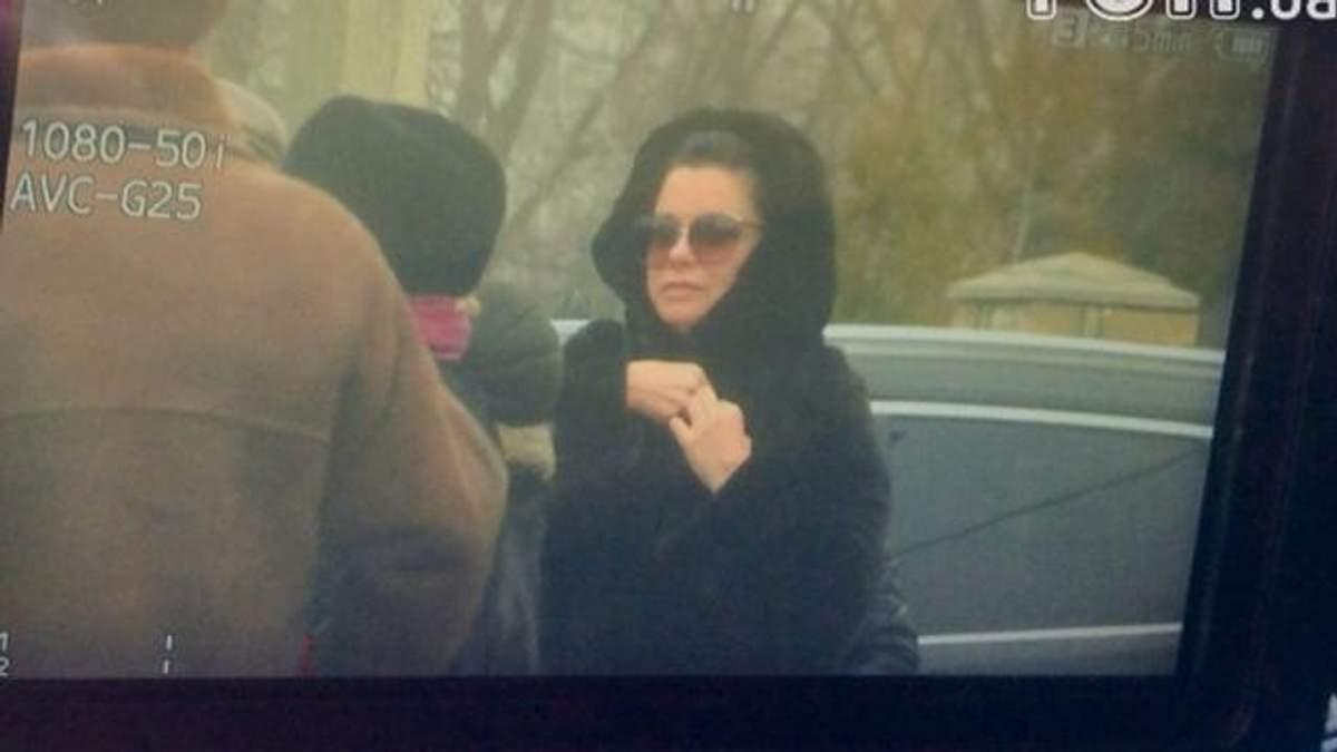 Как невъездная в Украину Королева прибыла в Киев: появились фото