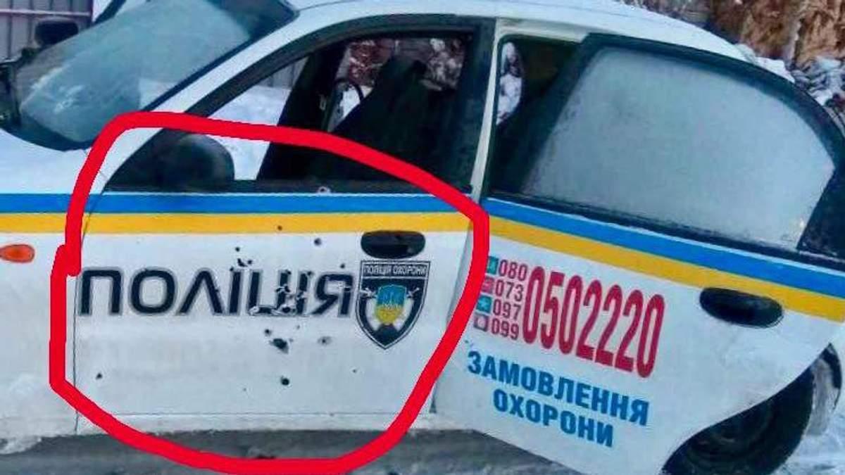 Розстріляна машина ДСО у Княжичах