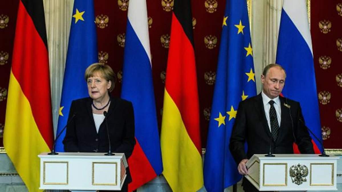 Меркель поговорила з Путіним: закликала вплинути на своїх бойовиків