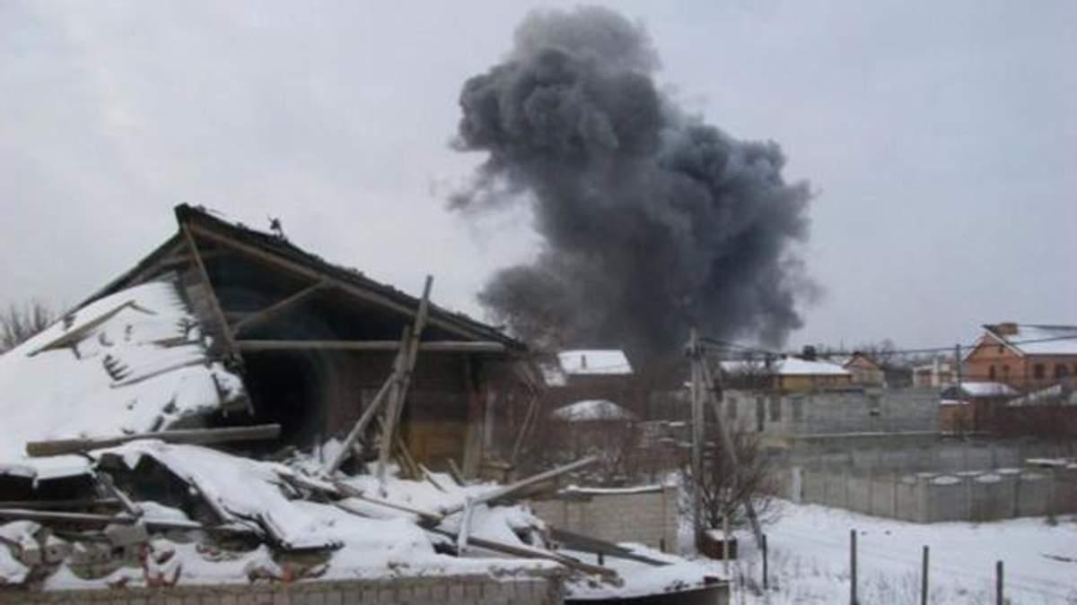 На хімзаводі у Донецьку прогримів потужний вибух